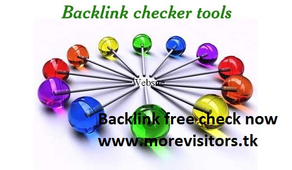 Backlink checker tools pagerank backlink more visitors good trafic world wide